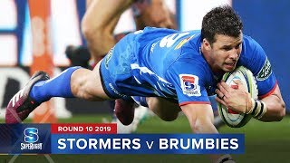 Stormers v Brumbies Rd.10 2019 Super rugby video highlights | Super Rugby Video Highlights