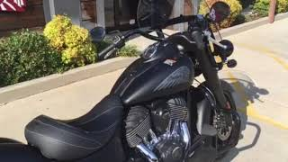 7. 2018 Indian Motorcycle Springfield Dark Horse