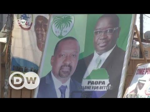 Wahlen im bitterarmen Sierra-Leone stehen an | DW Deuts ...