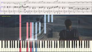 Earth (Gladiator) - Hans Zimmer (Ноты и Видеоурок для фортепиано) (piano cover)