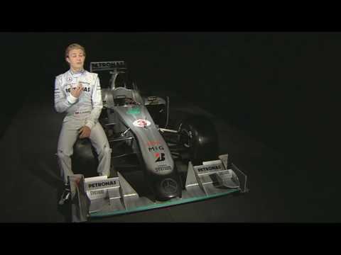Mercedes GP presentado por Nico Rosberg