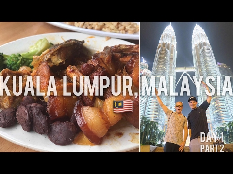 3 Days In KL Ep.2 🇲🇾 Jalan Alor Food Street & Amazing Kuala Lumpur Tower View, Top Things To Do KL