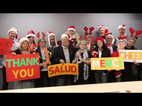 Happy holidays from the Joseph Brant Hospital Foundation