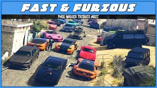 Nonton Paul Walker Tribute (GTA 5 Fast & Furious Car Meet) Film Subtitle Indonesia Streaming Movie Download