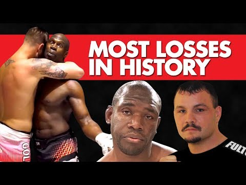 10 Fighters With The Most Losses In MMA History