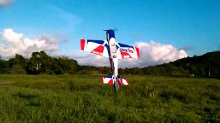 E-Flite Carbon Z Yak-54 Flown By Vic3D