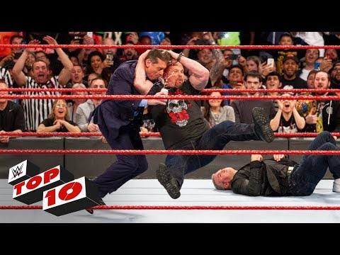 Top 10 Raw moments of 2018: WWE Top 10, Dec. 27, 2018