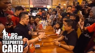 Video #MagicTraveler Makassar | Teleported Card MP3, 3GP, MP4, WEBM, AVI, FLV Juni 2019