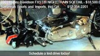 4. 2003 Harley-Davidson FXSTBI NIGHTTRAIN SOFTAIL SCREAMIN EAGL