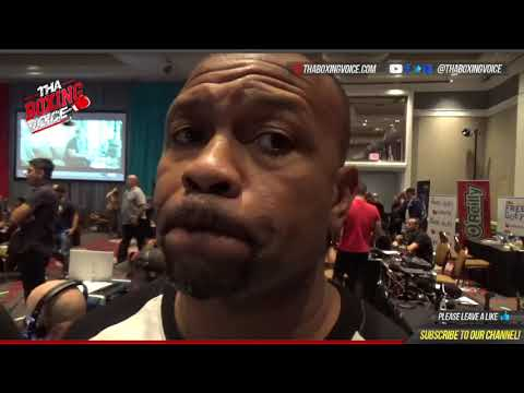 ROY JONES REACTS TO CANELO-GOLOVKIN WEIGH IN, FINAL THOUGHTS (видео)