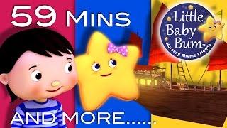 Twinkle Twinkle Little Star | Part 4 | Plus Lots More Nursery Rhymes | 59 Mins from LittleBabyBum! Video