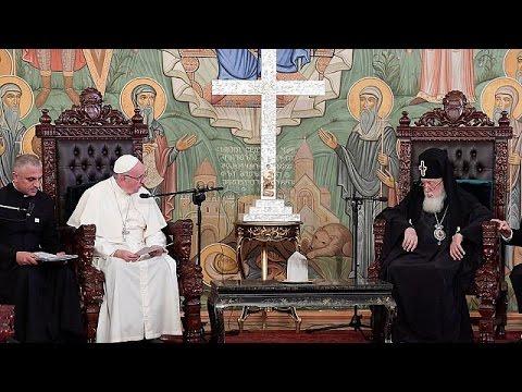 Ο Πάπας Φραγκίσκος στη Γεωργία