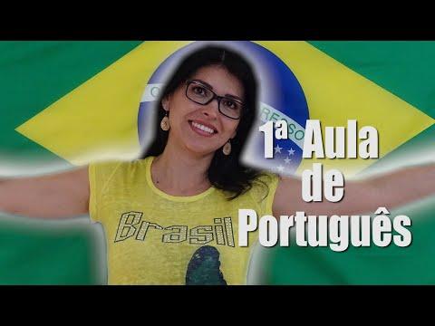 PRIMEIRA AULA DE PORTUGUÊS|PORTUGUESE FOR FOREIGNERS #AULA1