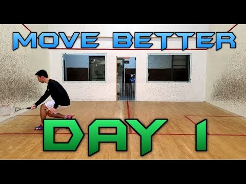 Squash - 6 Weeks to Better Movement - Day 1 - Side to Side Movement