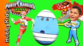 Video Giant POWER RANGERS Surprise Egg Adventure with Dino Charge Toys MP3, 3GP, MP4, WEBM, AVI, FLV Februari 2019