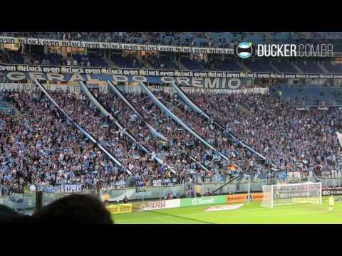 Hoje eu vim te apoiar - Grêmio 3 x 1 Fluminense - Copa do Brasil 2017 - Geral do Grêmio - Grêmio - Brasil - América del Sur