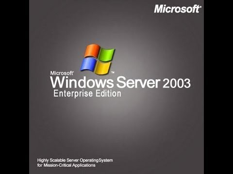 Windows Server 2003 R2 Enterprise x64 Edition SP2 VL with Update Luglio 2015 ITA