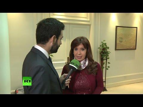 Красотка (президент Аргентины) Кристина Киршнер