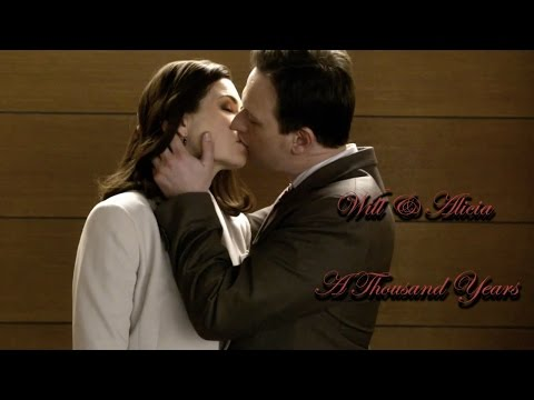The Good Wife || Will and Alicia || A Thousand Years
