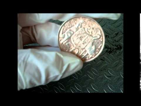 Cómo (no) limpiar monedas