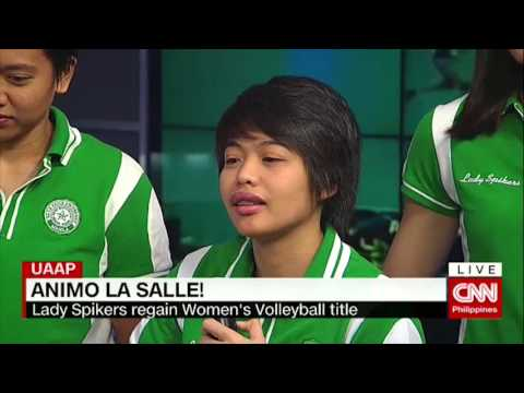 Lady Spikers Talk About Uaap Title Win