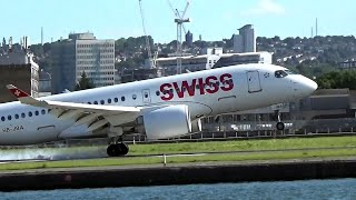 This is by far one of my favourite videos I have put up on this channel, the new CS100 (HB-JBA) landing into LCY. Swiss have...