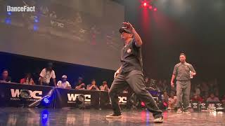Gucchon & Kei (Co-thkoo) vs Greenteck & Nelson – WDC 2018 FINAL POP BEST4 (Another angle)