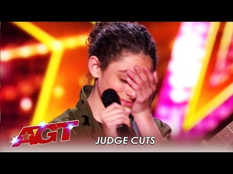 Benicio Bryant: Teen Singer Gets EMOTIONAL After Slaying Original Song!   America's Got Talent 2019