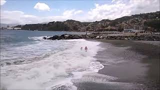 windsurf trouble in albisola 2016