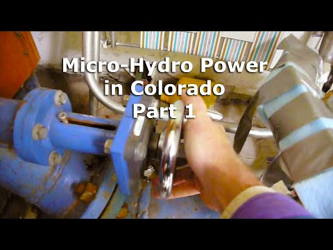 Micro Hydro Electric Power System in Colorado