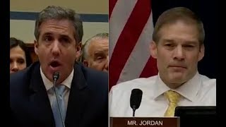 Michael Cohen puts Jim Jordan in his place with brutal scolding