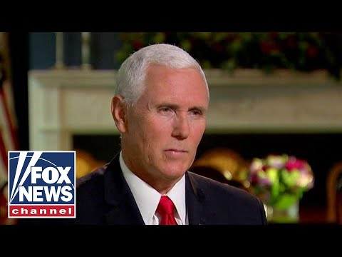 Pence on impact of anonymous NYT op-ed, Woodward book
