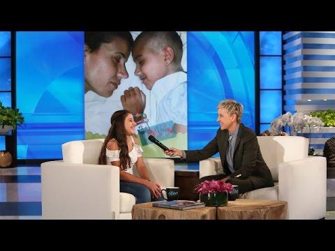 Ellen Surprises an 11-Year-Old Cancer Survivor