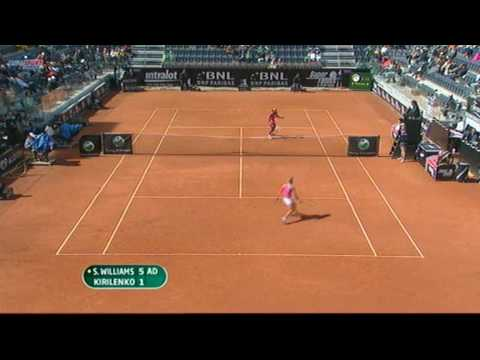 Maria Kirilenko  vs Serena Williams