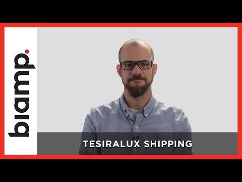 Biamp Tesira: TesiraLUX Shipping