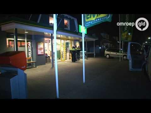 Overval supermarkt EMTE Ederveen