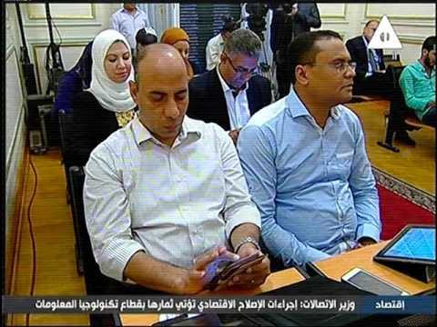 كلمة وزير النقل خلال المؤتمر الصحفى لإعادة إحياء خط سكه حديد أبوطرطور