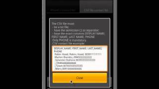 SMeSsaggia bulk customized SMS YouTube video