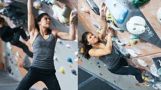 Sofya VS V10/7C+ , The Perfect Video? - Bouldering At It's Finest. by Eric Karlsson Bouldering