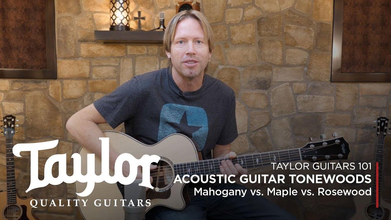 Acoustic Guitar Tonewoods | Mahogany vs. Maple vs. Rosewood