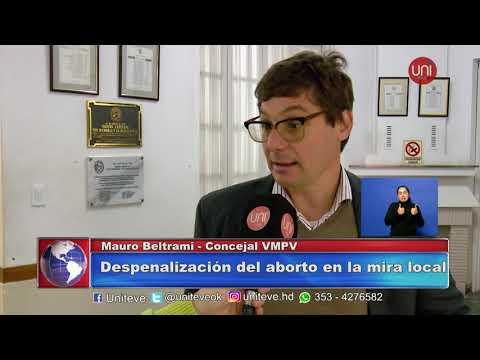 Concejales opinan sobre el aborto: Mauro Beltrami