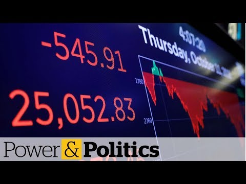 North American stocks continue to slide | Power and Politics