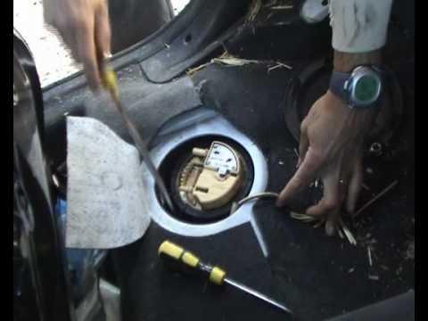 Changement pompe de gavage citroen Xsara HDI - (pompe à carburant électrique immergée)