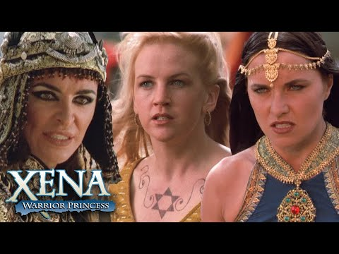 Xena and Gabrielle Fight Alti | Xena: Warrior Princess