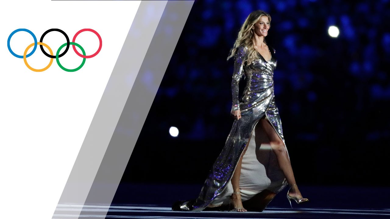 Gisele Bündchen´s catwalk at the Rio Olympics opening ceremony
