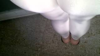Calza  White Leggings  Calzas de Lycra Blancas   Leggins Spandex Shiny Suplex Mallas Mallones