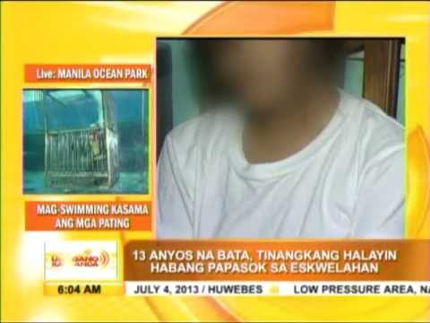Teenage Girl Escapes Would-be Rapist In Cubao