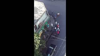 Video del presunto asaltante capturado por vecinos