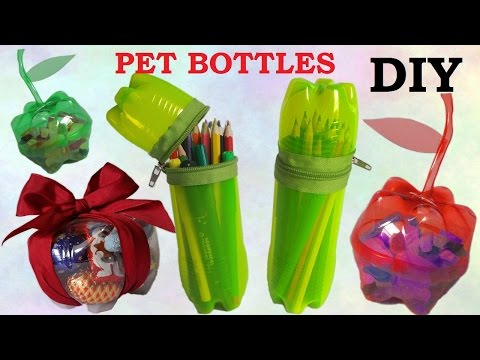 10 pomysłów na wykorzystanie plastikowych butelek