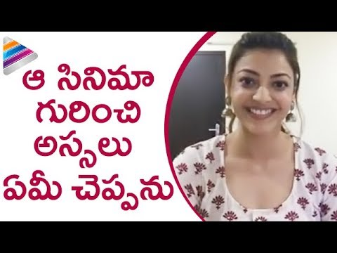 Kajal Aggarwal about Her Secret Project | Kajal Agarwal FB Live Interview